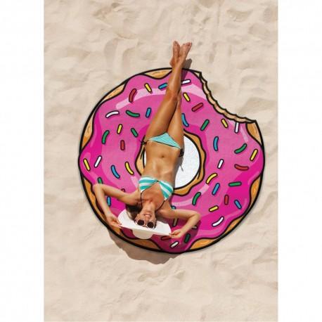Okrúhla plážová podložka Donut 135cm