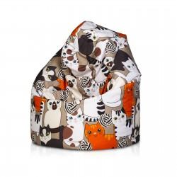 Sedací vak ECOPUF - SAKO modern polyester
