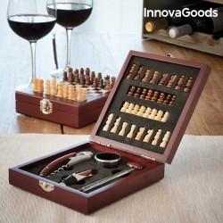 Set na víno šach 5ks 149647