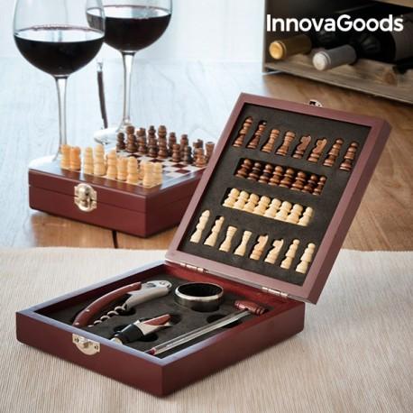 DR Set na víno šach 5ks 149647
