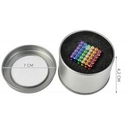 Magnetické guličky 216ks, 3mm