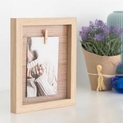 Nástenný rámček na fotky Clothes Line 10x15 cm