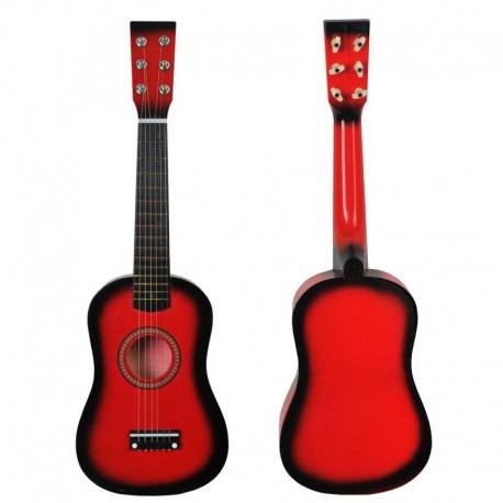 Detská drevená gitara 54cm