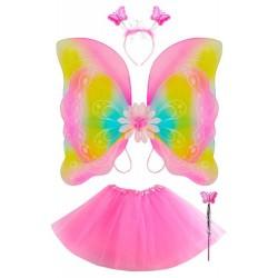 Dievčenský kostým - Motýlik