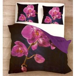 Posteľné obliečky 3D cyklamenová orchidea 140x200, 70x80