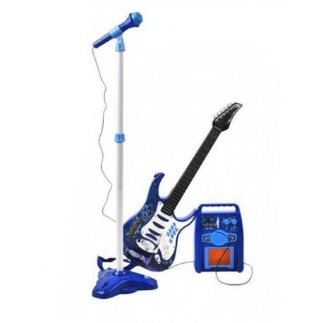 8010N Elektrická gitara + mikrofon + zosilňovač