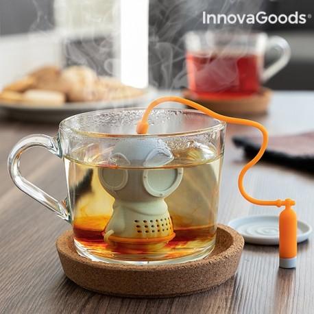 V0101226 InnovaGoods Silikónové čajové sitko - potápač