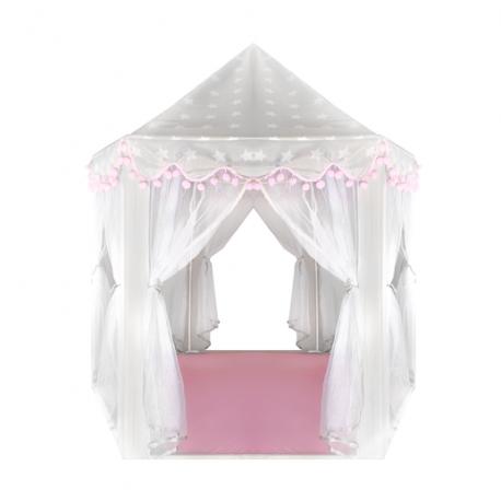 Stan pre deti sivo-ružový Kruzzel