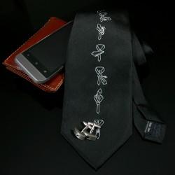 Kravata s návodom na viazanie