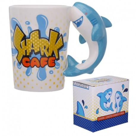 Keramický hrnček - žralok