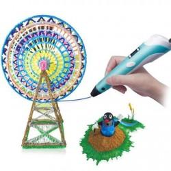 3D pero s príslušenstvom