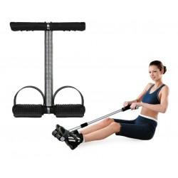 Pristroj na cvičenie brušných svalov a stehien
