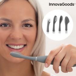 Silikónová zvuková kefka na tvár a zuby - Klinfor InnovaGoods