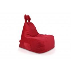 Detský sedací vak ECOPUF - Zajko L - Plyš amore