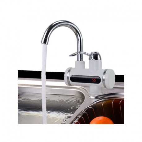 DR Elektrický prietokový ohrievač vody LCD 3KW