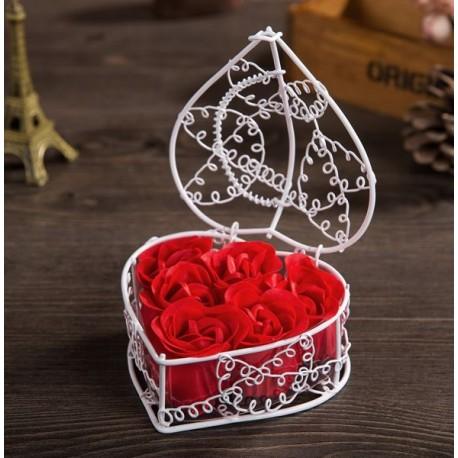 Ruže do kúpeľa v elegantnom balení