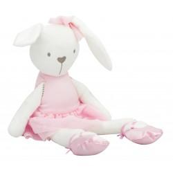 Plyšový zajačik 42cm - ružový