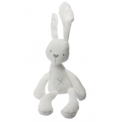Plyšový zajačik 49cm - biely