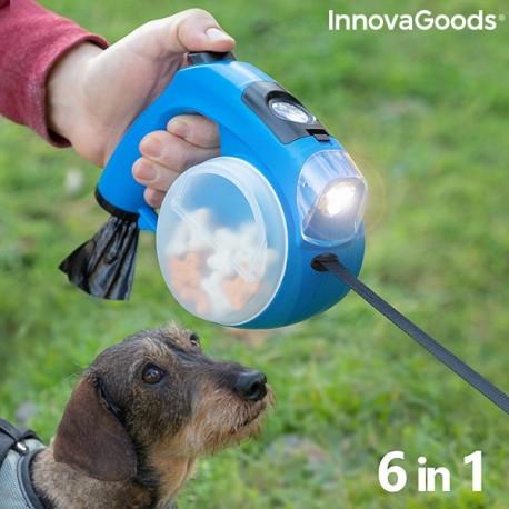 Samonavíjacie vodítko pre psov 6v1