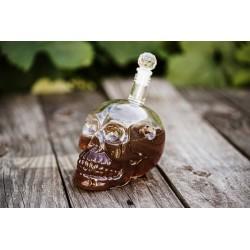 Fľaša na alkohol - Lebka 650ml