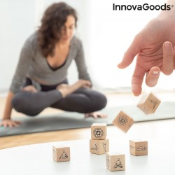 Hra s kockami na jogu Anandice InnovaGoods 7 Kusov