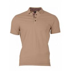 Pánske Polo tričko hnedé VS-PO 1912