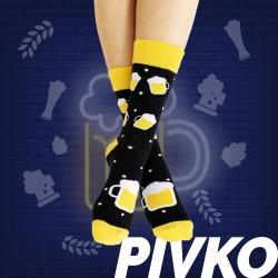 Veselé ponožky HESTY - Pivko