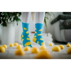 Veselé ponožky HESTY - Citrón