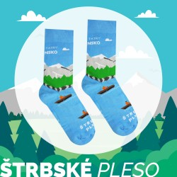 Veselé ponožky HESTY - Vysoké Tatry – Štrbské pleso