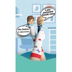 Veselé ponožky HESTY - Doktor a sestrička