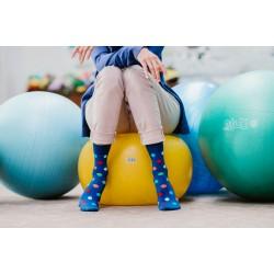 Veselé ponožky HESTY - Lentilky dlhé
