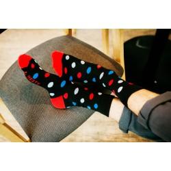Veselé ponožky HESTY - Guľkáč dlhý