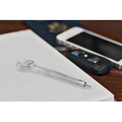 Pero v tvare Francúzskeho kľúča