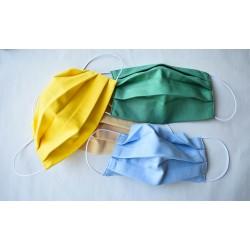 Farebné ochranné rúško dvojvrstvové 3ks - Detské