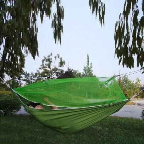 7510 DR Hamak Camping s pláštenkou 210X140cm