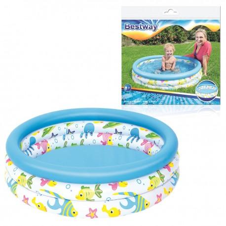 51008 BESTWAY Nafukovací bazén pre deti BESTWAY 102 cm