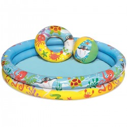 Detský bazén 3v1 Chobotnica 122x20cm BESTWAY