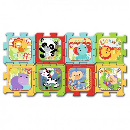 60399 TREFL Penové puzzle na zem - Animal 8ks