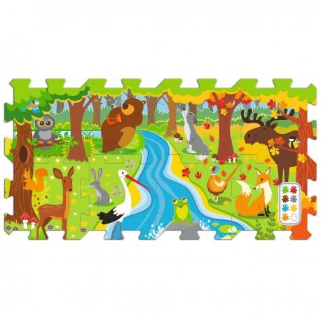 060698 Trefl penové puzzle les