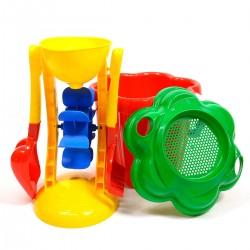 Sada hračiek na pieskovisko Kvietok