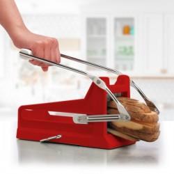 Automatický krájač zemiakov Quttin červená 24x9x10cm