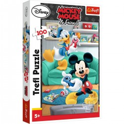 16291 Trefl puzzle Mickey Mouse a Donald 100 dielikov