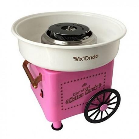 Vozík s výrobníkom na cukrovú vatu