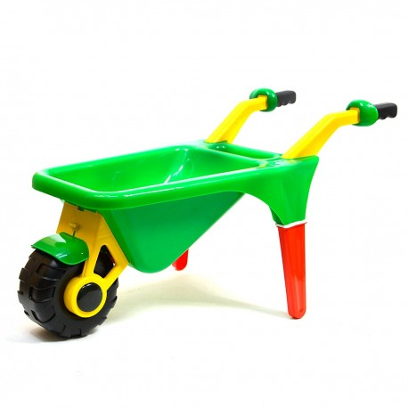 0044 DR Detský plastový fúrik Zelená
