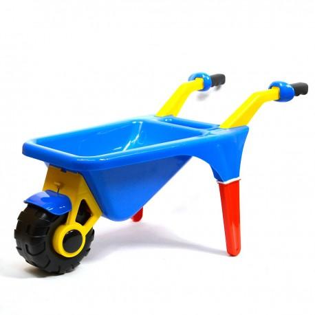 0044 DR Detský plastový fúrik Modrá