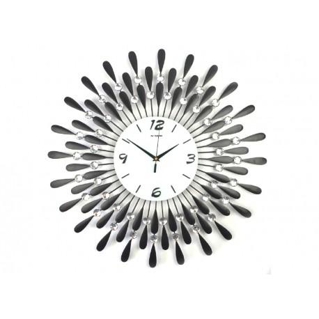 1301 DR Nástenné hodiny Sun Crystal