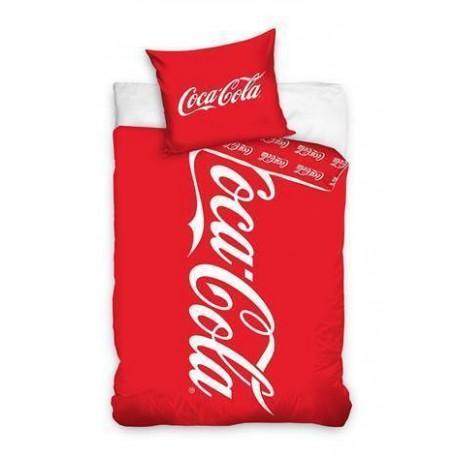 DR Bavlnené posteľná obliečky Coca Cola 140x200, 70x80
