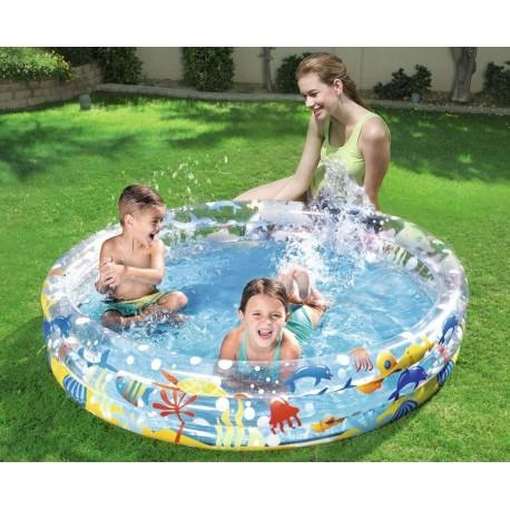 51004 BESTWAY Nafukovací bazén Deep drive 152x30cm Bestway