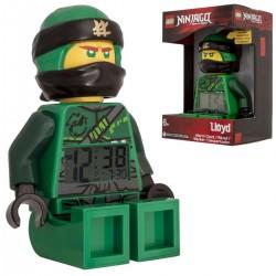 Budík Lego Ninjago Lloyd zelený