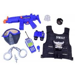 Kostým - Policajná sada (vesta + príslušenstvo)